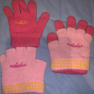 アディダス(adidas)のアディダス 3way レディース手袋(手袋)