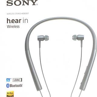 ソニー(SONY)のSONYワイヤレスイヤホンh.ear in MDR-EX750BT 黒(ヘッドフォン/イヤフォン)