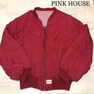 ピンクハウス(PINK HOUSE)の【PINK HOUSE】ピンクハウス ナイロンブルゾン MA-1 (ブルゾン)