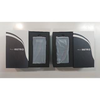 【2台セット】ガラケー型SIMフリースマホ「mode1 retro」ブラック(スマートフォン本体)
