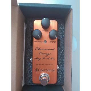 OneControlFluorescent OrangeAmpInABox(エフェクター)
