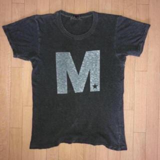 エム(M)のM エム Tシャツ グレー(Tシャツ/カットソー(半袖/袖なし))