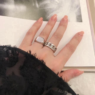 silver925 wave ring シルバー925(リング(指輪))