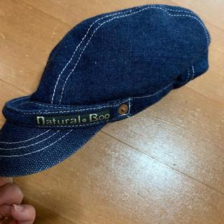 ナチュラルブー(Natural Boo)のお値下げ!ナチュラルブー S キャスケット 帽子(帽子)