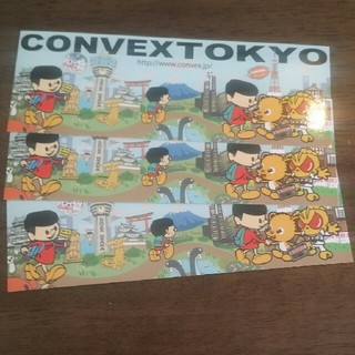 コンベックス(CONVEX)のCONVEX ステッカー(ステッカー(シール))