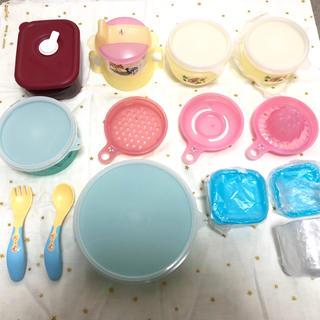 ディズニー(Disney)の離乳食食器セット ディズニー 未使用(離乳食器セット)
