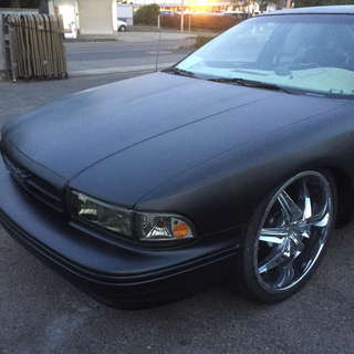 シボレー(Chevrolet)の95年シボレーインパラss  20インチ!ローダウン!8ナンバー車検付き(車体)