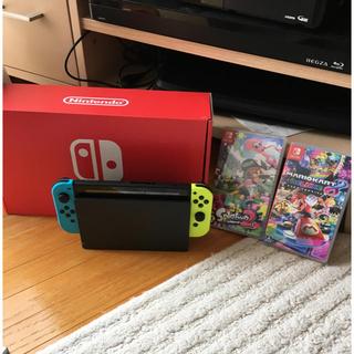 ニンテンドースイッチ(Nintendo Switch)のニンテンドースイッチSwitch 本体のみ(家庭用ゲーム本体)