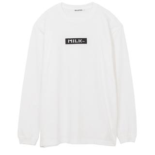 ミルクフェド(MILKFED.)のミルクフェド BIG LS TEE EMBROIDERED BAR(Tシャツ(長袖/七分))