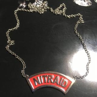 ナイトレイド(nitraid)の値下げ!NITRAID アーチロゴネックレス(ネックレス)
