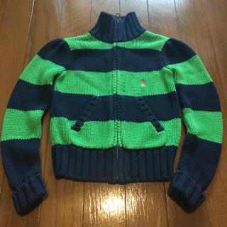 ラルフローレン(Ralph Lauren)の古着屋購入♡ラルフローレンジップアップニットセーター 4T(その他)