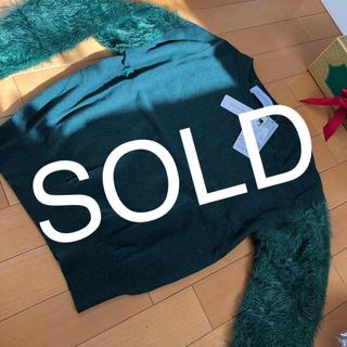 シュガーローズ(Sugar Rose)の新品グリーン色のセーター(ニット/セーター)