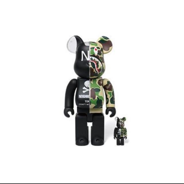 MEDICOM TOY(メディコムトイ)のBAPE NEIGHBORHOOD 400% 100% エンタメ/ホビーのおもちゃ/ぬいぐるみ(キャラクターグッズ)の商品写真