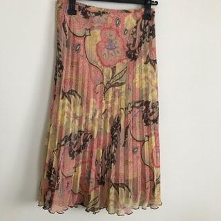 エルプラネット(ELLE PLANETE)のエルプラネット スカート サイズ38(ロングスカート)