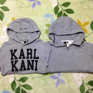 カールカナイ(Karl Kani)のKARL KANI 2枚セット XS.S(パーカー)