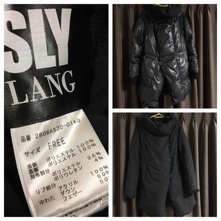 スライラング(SLY LANG)のSLY  LANG♡リバーシブル ダウン(ダウンコート)