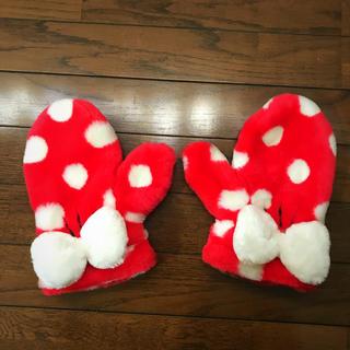 ディズニー(Disney)のミニーの手袋(手袋)