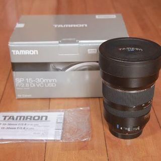 TAMRON - 【値下げ中】TAMRON SP 15-30mm F2.8 キヤノン用