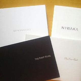 ニワカ(俄)のMIKIMOTO NIWAKA カタログ(ファッション)