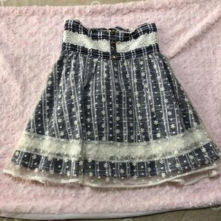 リズリサ(LIZ LISA)のサス付きスカート(ミニスカート)