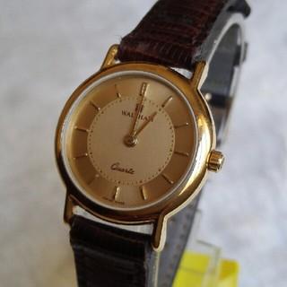 ウォルサム(Waltham)のウォルサム腕時計 新品電池交換 レディースクォーツ (腕時計)