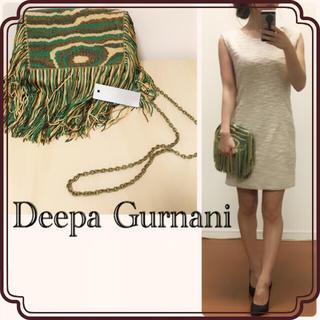 ディーパグルナニ(Deepa Gurnani)の【Deepa Gurnani】ポシェット バッグ✳︎インポート✳︎ミニバッグ(ショルダーバッグ)