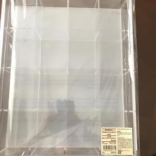 ムジルシリョウヒン(MUJI (無印良品))の無印良品 アクリルコレクションボックスCASE(ケース/ボックス)