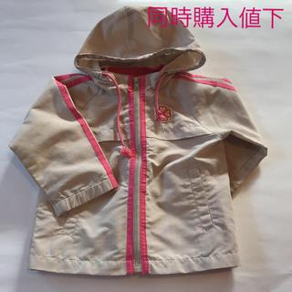 サンカンシオン(3can4on)の3can4on ジャンパー 女の子 90 上着 ウインドブレーカー パーカー(ジャケット/上着)