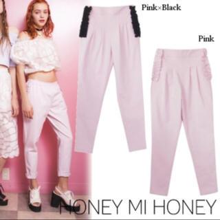 ハニーミーハニー(Honey mi Honey)のハニーミーハニー  ポケット フリル パンツ(カジュアルパンツ)
