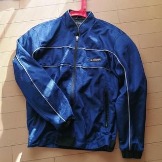 ゴールドウィン(GOLDWIN)の【美品】ゴールドウィンのバイク用ライダースジャケット メッシュジャケット青(ライダースジャケット)