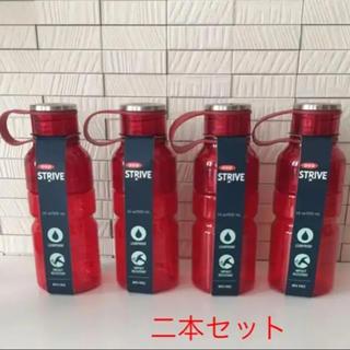 フランフラン(Francfranc)の送料込み☆新品 フランフラン アドバイスボトル チェリーレッド  S 二本セット(容器)