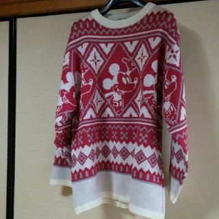 ディズニー(Disney)の☆ミッキーマウス☆ニットセーター(ニット/セーター)