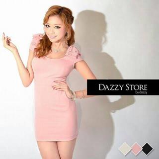 デイジーストア(dazzy store)のdazzyリボンドレス(ミニドレス)