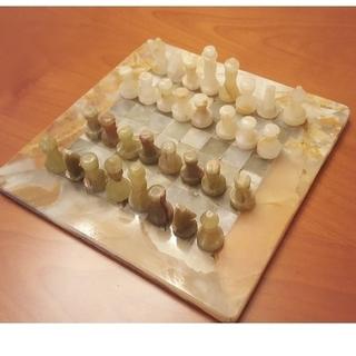 大理石チェス インテリア(オセロ/チェス)