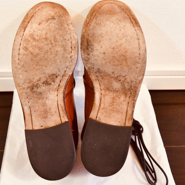 SHIPS(シップス)の【はるこしわさん専用】SHIPS シップス ホースレザー チャッカブーツ 靴 メンズの靴/シューズ(ブーツ)の商品写真