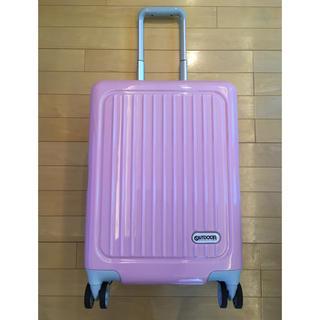 アウトドアプロダクツ(OUTDOOR PRODUCTS)の★OUTDOOR★(美品)スーツケースキャリーケース(ピンク)ファスナー式(スーツケース/キャリーバッグ)