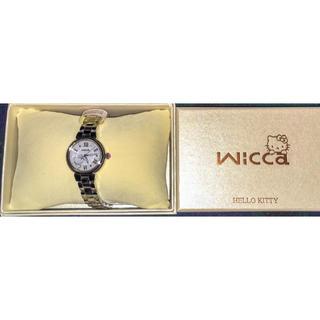 シチズン(CITIZEN)の【新品・保証書付】シチズン腕時計 wicca× キティ 限定コラボウオッチ(腕時計)