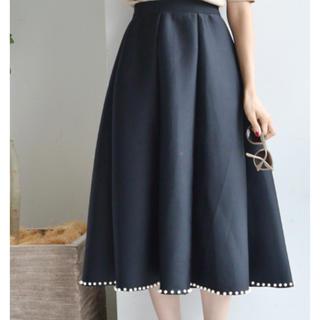 グラマラスガーデン(GLAMOROUS GARDEN)の裾パールダイバースカート(ロングスカート)