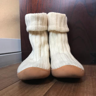 ケイカ(KEiKA)のKEIKA ニットブーツ 24.5(ブーツ)