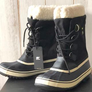ソレル(SOREL)の★新品正規品★ソレル ウインターカーニバル スノーブーツ ブラック 22cm(ブーツ)