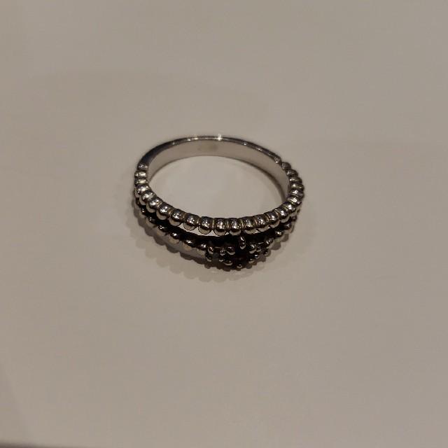 k10WG 指輪 リング 6号 レディースのアクセサリー(リング(指輪))の商品写真