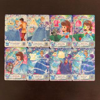 ディズニー(Disney)の最新弾 8枚 ディズニー マジックキャッスル クリスタルシーズン まとめ売り ③(その他)