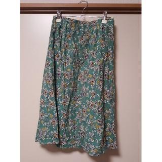 アントマリーズ(Aunt Marie's)の花柄スカート(ひざ丈スカート)