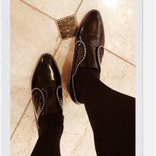 ロキエ(Lochie)のepine スタッズシューズ(ローファー/革靴)