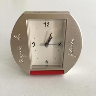 アニエスベー(agnes b.)のアニエス・ベー アラーム付き卓上時計(置時計)