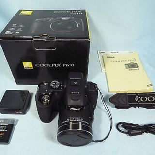 ニコン(Nikon)のNikon COOLPIX P610 ハイズームデジカメ 送料無料(コンパクトデジタルカメラ)