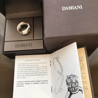 ダミアーニ(Damiani)のダミアーニホワイトセラミックリング(リング(指輪))