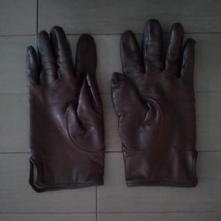 キャトルセゾン(quatre saisons)のキャトルセゾン レザー手袋(手袋)