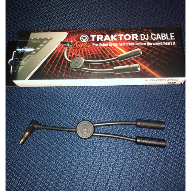 TRAKTOR DJ CABLE スプリットケーブル iOS  楽器のレコーディング/PA機器(ケーブル)の商品写真