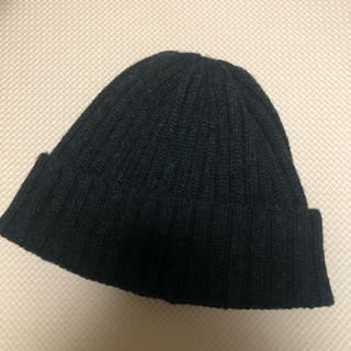 ムジルシリョウヒン(MUJI (無印良品))の無印良品 チャコールニット帽(ニット帽/ビーニー)